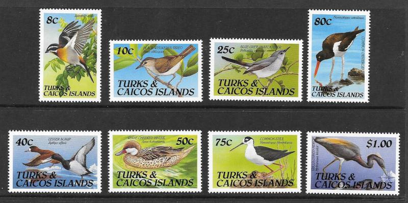 Turks and Caicos Is. #859-866  Mint H