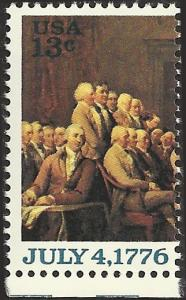 # 1691 MINT NEVER HINGED DECLARATION OF INDEPENDENCE