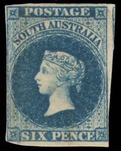 Australia / South Australia Scott 3 Gibbons 3 Mint Stamp