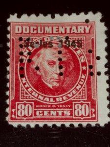USA #R422 80c Carmine 1945 used