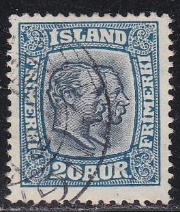 Iceland # 107, Used, Third Cat