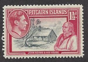 Pitcairn Islands  Scott  #3  Mint never hinged