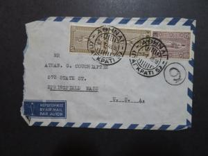 Greece 1948 Airmail Cover to USA (II) - Z8625