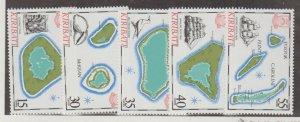 Kiribati Scott #475-479 Stamps - Mint NH Set