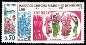 FRENCH ANDORRA 155-57  Mint (ID # 77322)