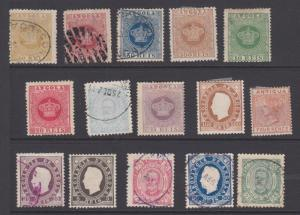 ANGOLA OLD COLLECTION DR SCHULTZ ESTATE EARLY STAMPS ONLY ! 5551a