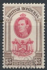 British Honduras  SG 161 SC # 126  Used / FU   please see scans