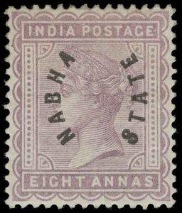 India / Nabha Scott 4 Gibbons 5 Mint Stamp