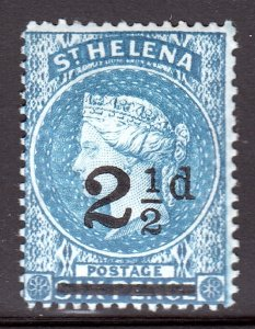 St. Helena - Scott #47 - MH - Unusually vibrant color for this issue - SCV $3.75