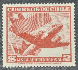 DYNAMITE Stamps: Chile Scott #C139 – UNUSED
