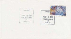 Canada 37c Vancouver Explores the Coast 1988 690910 Yellowknife, NT Sub #2 19...