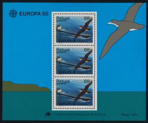 Portugal Madeira 110a MNH  - EUROPA, Ship Bird, Great Shearwater