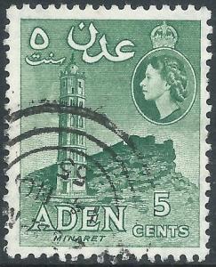 Aden, Sc #48, 5c Used
