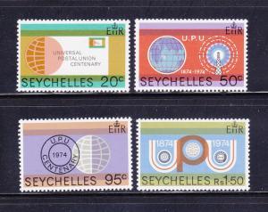 Seychelles 317-320 Set MNH UPU