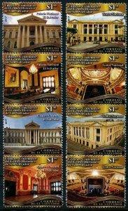 HERRICKSTAMP NEW ISSUES SALVADOR Sc.# 1769-70 Centenary Buildings Strips