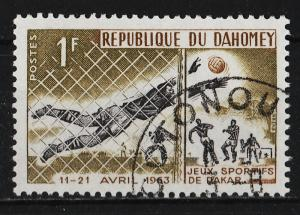 Dahomey 1963 Friendship Games, Dakar 1F (1/6) USED