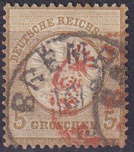 Germany #20 F-VF   Used  CV $27.50  (Z2855)