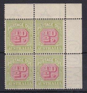 PDA43) 1922-30 Third wmk ½d Carmine & yellow-green ACSC D105D