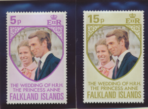 Falkland Islands Stamps Scott #225 To 226, Mint Never Hinged - Free U.S. Ship...