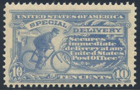 US Scott #E8 Mint, FVF, NH
