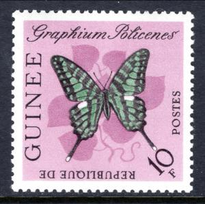 Guinea 299 Butterfly MNH VF