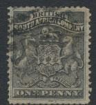 British South Africa Company / Rhodesia  SG 1 Used see scans & details