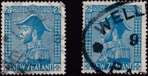 New Zealand 1926 SC 182-182a Used