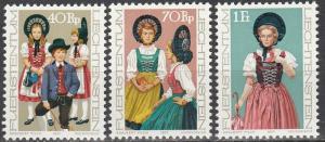 Liechtenstein #628-30 MNH CV $2.50   (S8841)