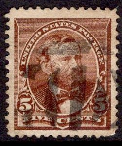 US Stamp #223 USED SCV 4.75