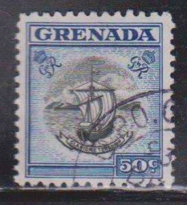 GRENADA Scott # 161 Used - Old Ship
