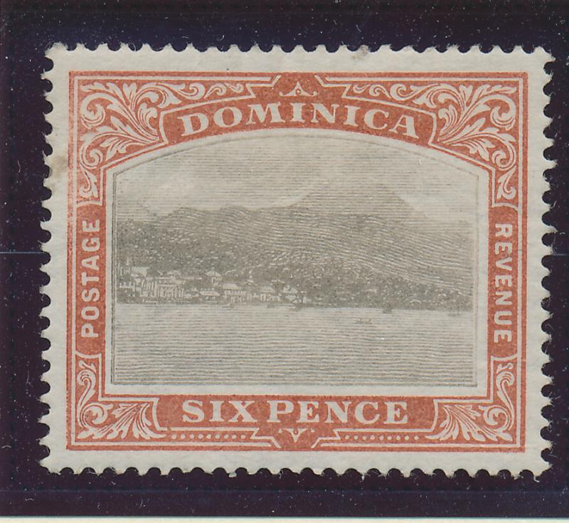 Dominica Stamp Scott #30, Mint Very Lightly Hinged - Free U.S. Shipping, Free...