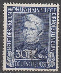 Germany #B313 F-VF Used  CV $100.00  (K1391)
