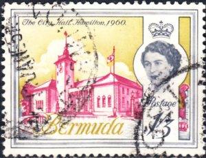 Bermuda  #184  Used