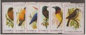 St. Thomas & Prince Islands Scott #541-546 Stamps - Used Set