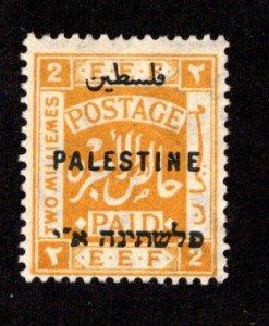 PALESTINE  SC# 49  F/MOG