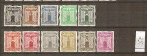 GERMANY  1938 Franchise stamps mint NH