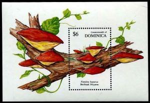 HERRICKSTAMP DOMINICA Sc.# 1326 Mushrooms S/S I
