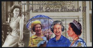 St Vincent Grenadines - Mustique 3-4 MNH Queen Elizabeth Coronation 50th Anniv