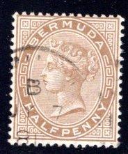 BERMUDA #16, used, F   ...   0650416