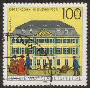 Germany #B718 used - post office