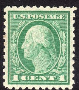 1916-17 U.S Washington 1¢ perf 10 issue MNH Sc# 462 CV $16.00