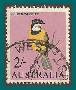 Australia 1965 Golden Whistler, used  370,SG366
