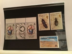Falkland Islands mint never hinged stamps R21604