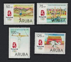 Aruba Olympic Games Beijing 4v SG#417-420