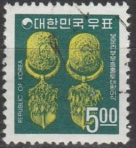 Korea #596  F-VF Used  (S4584)