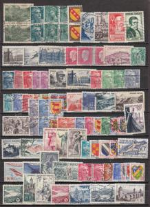France -  small stamp lot (984N)