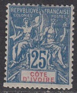 Ivory Coast 11 MLH CV $40.00