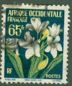 FRENCH WEST AFRICA 83 USED BIN$ 1.60