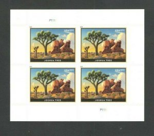 5347 Joshua Tree Priority Mail Plate Block Mint/nh FREE SHIPPING