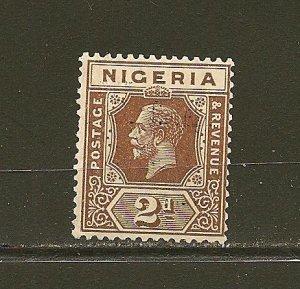 Nigeria 23 King George V Mint Hinged